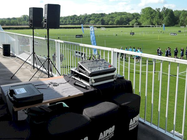 Great value Outdoor Event PA and speaker Hire, lighting and staging also available